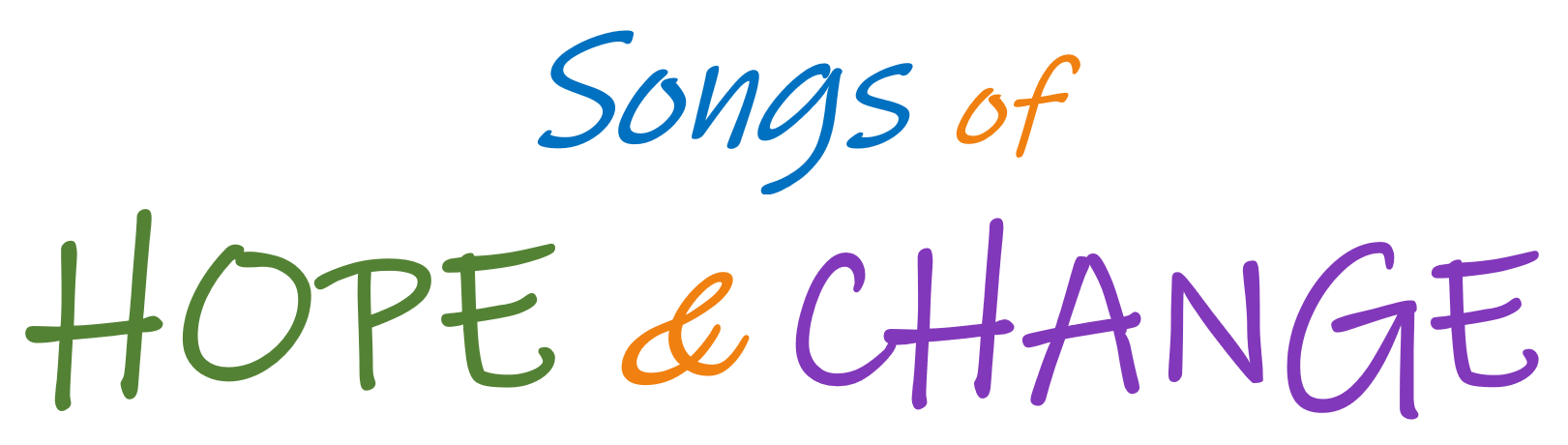 Songs of Hope and Change LOGO May Virtual Concert 2021